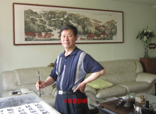 【中国画都网】推介:军旅逯守刚书法作品