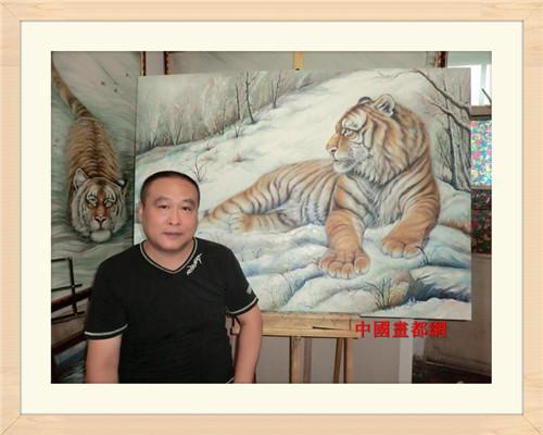 西安冯佰川油画作品集