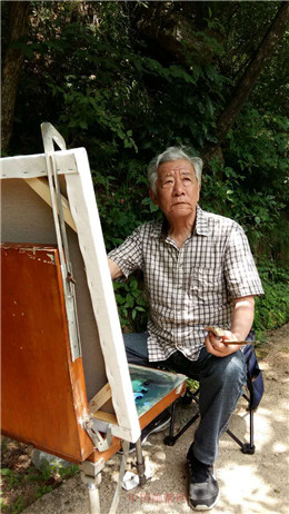【中国画都网】名人风采推荐艺术名家柳忠福