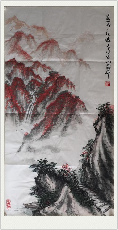 【中国画都网】鉴藏闫树坤山水作品